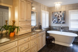 CATEGORY: Bathroom Remodel over $100,000 AWARD: Award of Excellence PROJECT: Hussain LOCATION: Laurel, MD