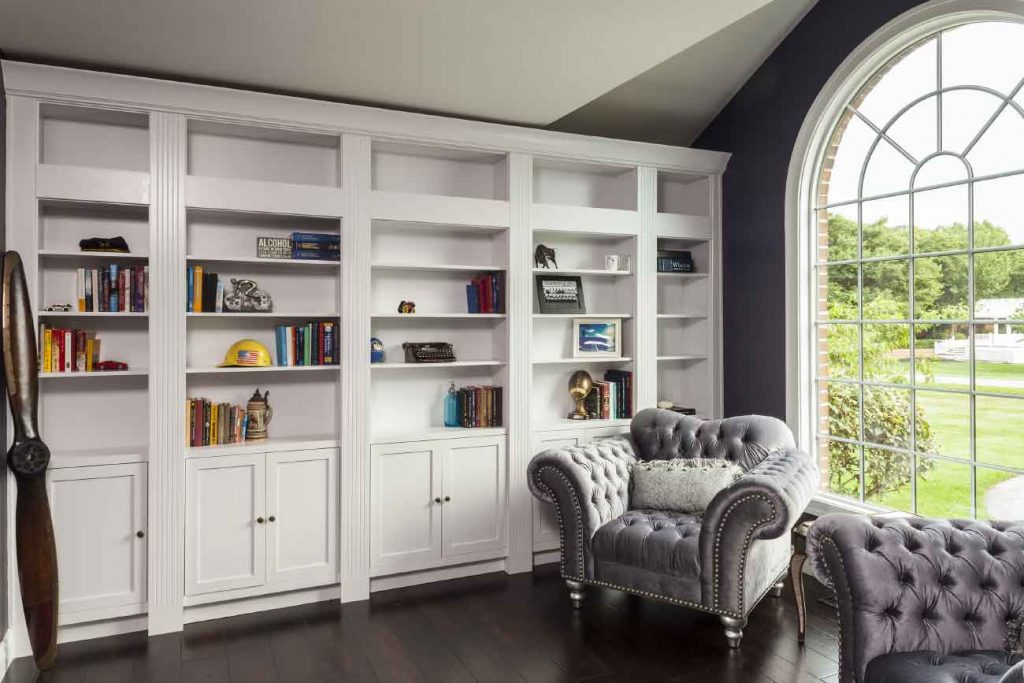 Addition of a home library