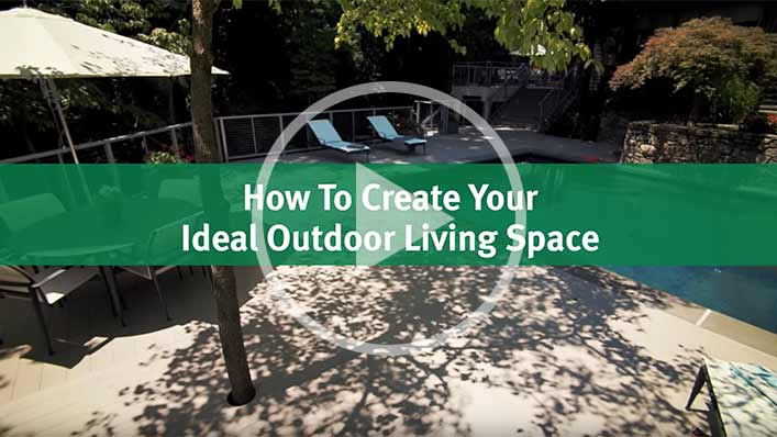 Video about Outdoor Living Space created by T.W. Ellis