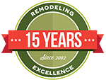 15 Years of Remodeling in Maryland logo