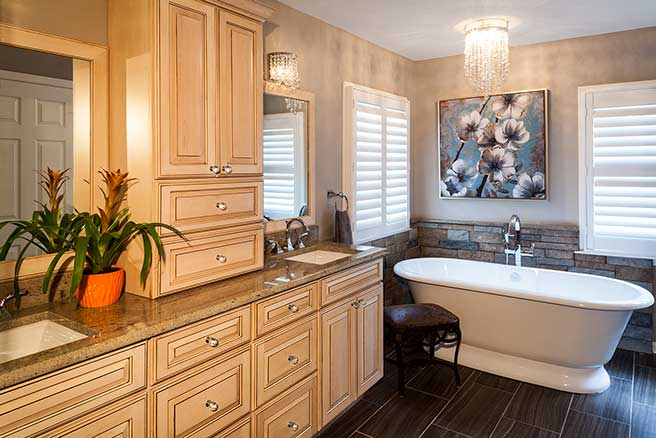Award-Winning bathroom remodeling image