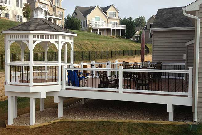 Custom Deck & Gazebo, Harford Co, MD