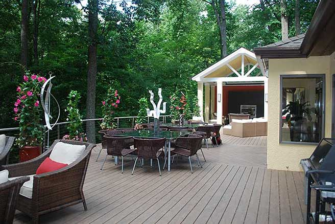Award-Winning Loggia & Deck, MD