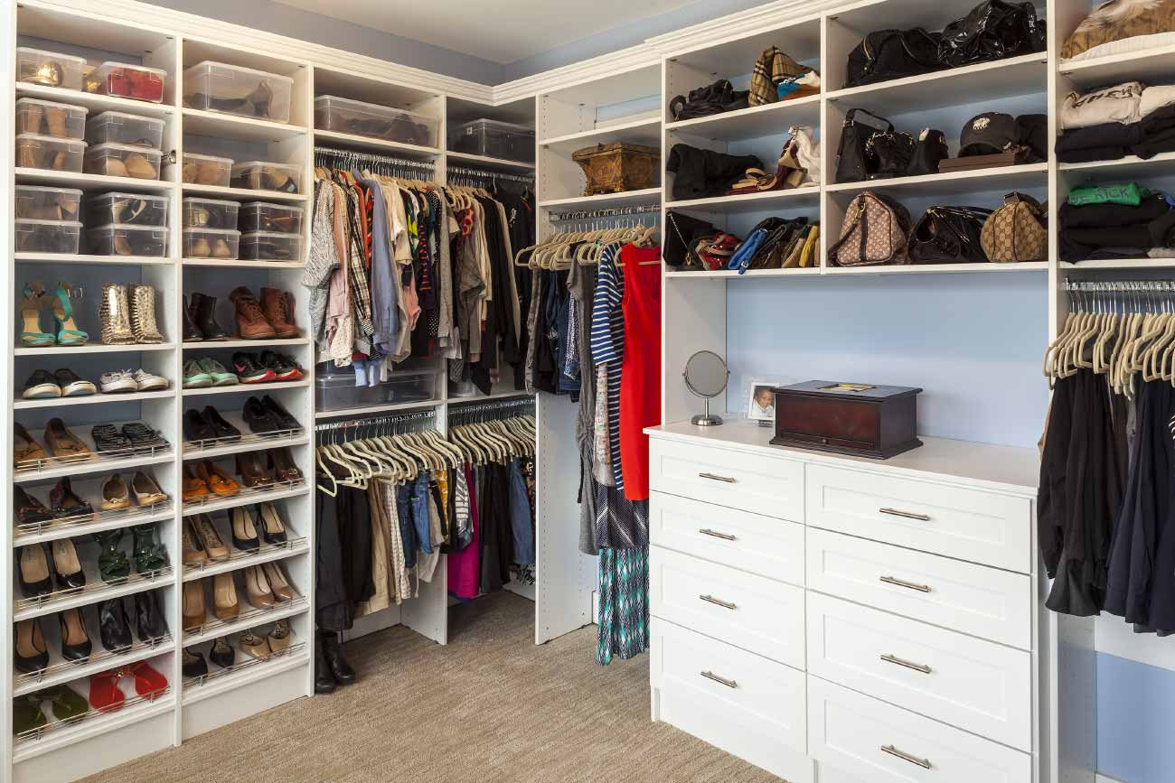 Walk-in closet renovation