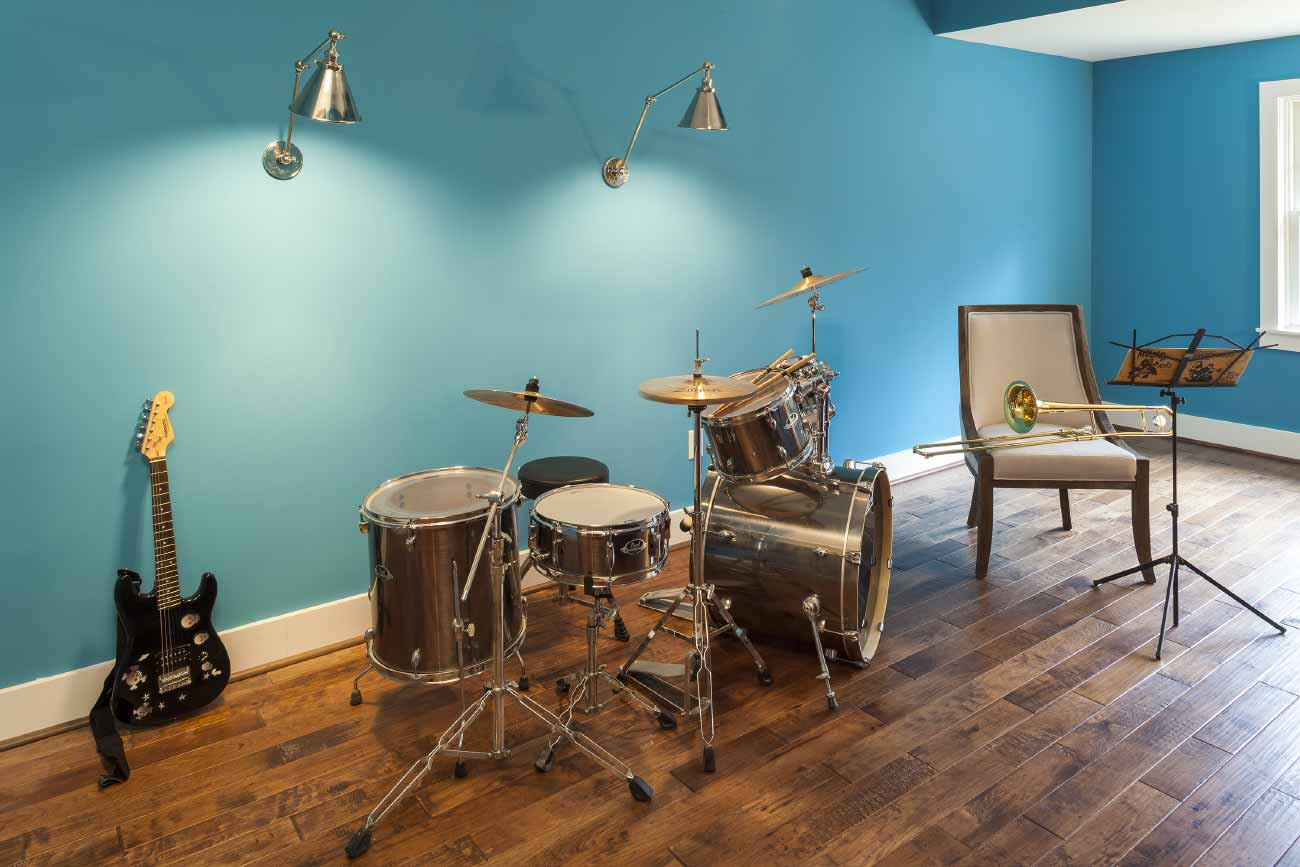 Music room addition