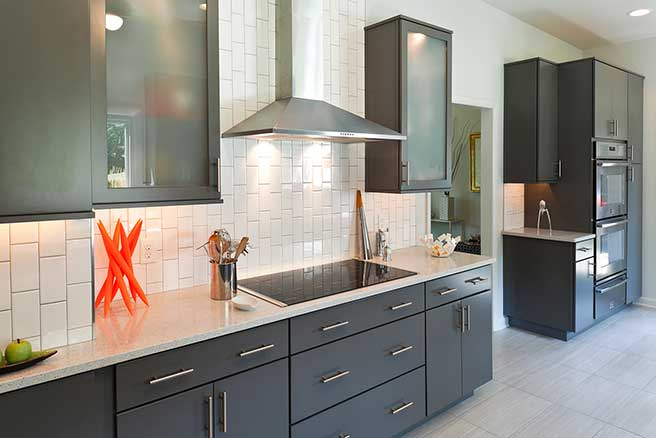 Award-winning modern kitchen remodel in Baltimore