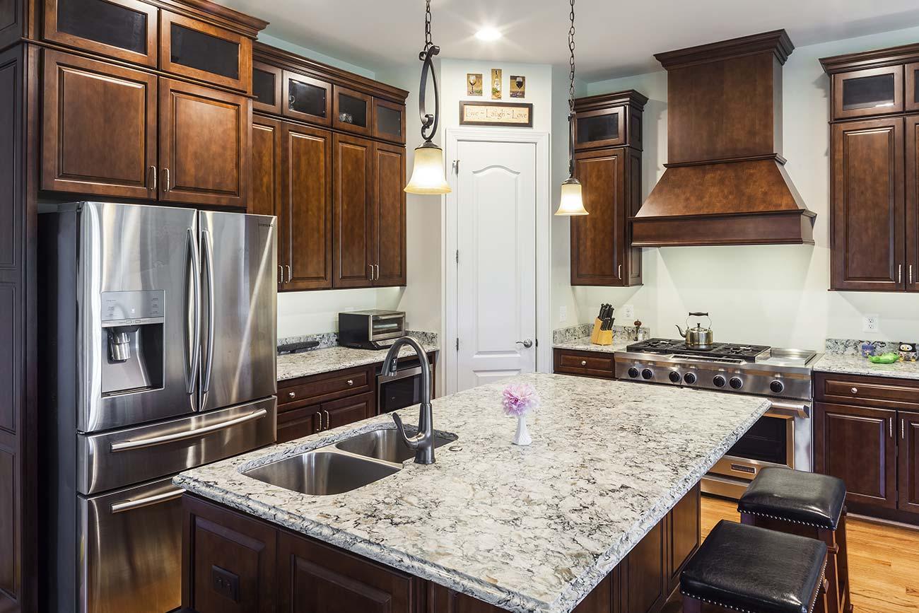 Kitchen Restoration from Water Damage   T.W. Ellis